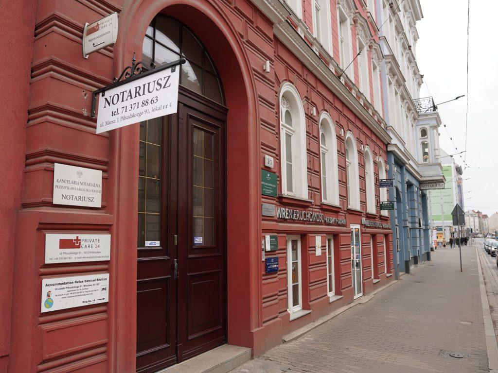 Notariusz - Wrocław